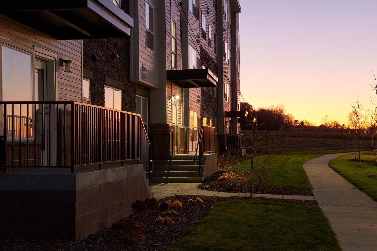Miller Hanson Harvest View Apartments in Rochester Minnesota
